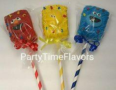 Sesame Street Rice Krispie Treats Big Bird, Elmo and Cookie Monster wish their little ones a happy birthday! Sesame Street Snacks, Seasame Street Party, Sesame Street Birthday, Sesame Streets, Twin Birthday Parties, Elmo Birthday, Birthday Treats, Birthday Angel, Happy Birthday