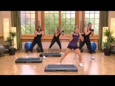 30 Minutes To Fitness - Step Workout 2 Part 2 min) Hiit, Cardio, Step Up Workout, Step Aerobics, Post Pregnancy, Gym, Work Outs, Boxing, Fitness