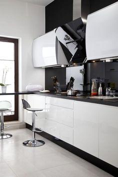 Biała kuchnia: nowoczesna aranżacja kuchni