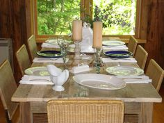 Driftwood Dining Room Table  72L x 36W x 29H by DriftwoodTreasures, $649.00