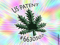 US Patent #6630507 Medical Marijuana eARTh heART