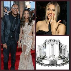 Future proposed to Ciara with this 15 carat beauty while celebrating her birthday!