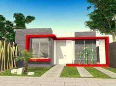 Resultado de imagen para fachada casa 1 piso #Casasminimalistas