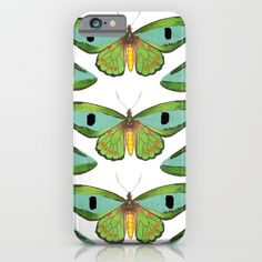 butterfly pattern iPhone & iPod Case