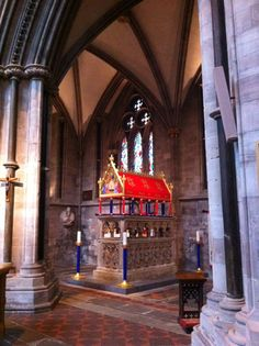Tomb of Thomas Cantilupe in Hereford Cathedral