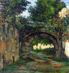 Paul Cézanne (1839-1906) - The Vault, 1862-64