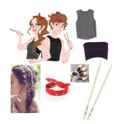 """""""Ash & Ashley"""" by allie-mallie-moo ❤ liked on Polyvore featuring LA: Hearts, MANGO, ashtonirwin and 5secondsofsummer"""