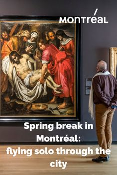 Spring break will be a little different in 2021, but Montrealers aren't hibernating this year. It's the perfect time to get out and rediscover your city. Explore new parks and trails, visit museums, update your wardrobe and drop by your favourite cafes and restaurants. If you're spending spring break on your own, here are some ideas for things to do in Montreal to make the most of your break!