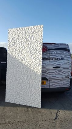 Our new Quartz 3d mdf wall panel now in stock. A deep carved panel with cool abstract design.