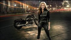 https://flic.kr/p/ars3AN   Faith Hill - Sunday Night Football   Faith Hill in her sexy skintight black leather outfit for the new NFL Sunday Night Football opening.