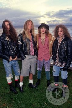 Sean, Jerry, Layne, Mike - Alice in Chains Scott Weiland, Layne Staley, Chester Bennington, Kurt Cobain, Alice In Chains Albums, Mike Inez, Mike Starr, Big Box Braids, Jerry Cantrell