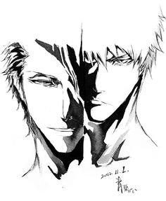 Bleach - Ichigo and Aizen