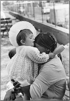 South African servants are not forbidden to love, woman holding child said, 'i love this child, though she'll grow up to treat me just like her mother does. Now she is innocent, by Ernest Cole Africa Day, South Africa, What Is Evil, Africa People, African Babies, Ap Art, Documentary Photography, African History, Recherche Google