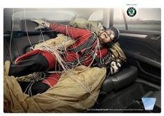 PAM : GARRIGOSA STUDIO for SKODA | #adv #marketing #creative #werbung #ads #print #poster #advertising #campaign < found on www.gosee.us pinned by www.BlickeDeeler.de | Follow us on www.facebook.com/blickedeeler