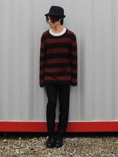 Kurt Cobainほど赤×黒のボーダーニットをカッコよく着こなす男をオレは他に知らない。