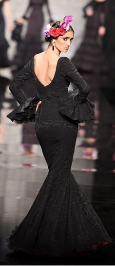 Amparo Maciá, Simof 2015.  Moda flamenca.    -->Elsie RC
