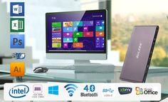 GULEEK GPC Intel Windows 10 Licensed Cherry Trail Z8300 Quad core 1.44GHz 2GB/32GB WIFI 2.4GHz+5GHz Bluetooth Mini PC Sale - Banggood.com