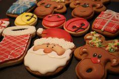 Christmas Cookies - Santa, Reindeer, Jingle Bells | Cookie Connection