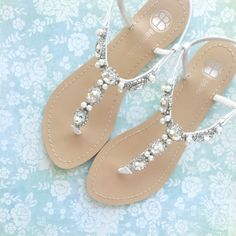 Wedding sandals by BellaBelle Shoe on Etsy