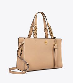 Shoulder Bag for Women On Sale, Camel, Leather, 2017, one size Tory Burch