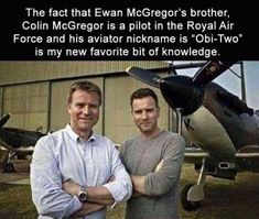 Ewan MacGregor's brother's Star Wars connection.