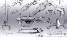 Concept art flying vehicle design sketches by daniel simon, industrial design digital sketches, concept car renders, vehicle concept idea sketches, Concept Ships, Concept Cars, Captain America, Tron Light Cycle, Design Autos, Flying Vehicles, Spaceship Design, Industrial Design Sketch, Automotive Design
