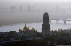 Ukraine Kiev. Spent all day walking around the city