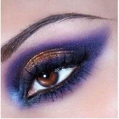 Bronze and purple winged eye