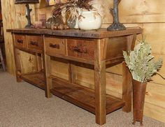 Woodland Creek Furniture eclectic-entry