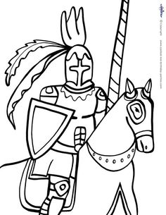 middle ages coloring pages printable - photo#31