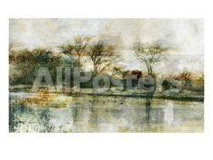 Oil and Water 2 Landscapes Photographic Print - 61 x 46 cm