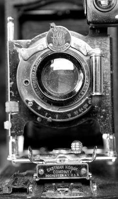 Kodak Camera Black and White Photography Photographer  Vintage Antique  Rustic Shabby Chic Home Decor Wall Art Fine Art Photography