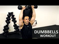 FULL BODY STRENGTH dumbbells weights training w/Coach Ali