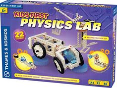 Kids First Physics Lab Kit -- More info could be found at the image url. Note:It is Affiliate Link to Amazon.