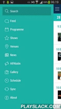 HIFA 2015  Android App - playslack.com , Read artist profiles, find venues, check show times, read and submit reviews for shows, and keep a finger on the pulse with the live social feed.*Social Feed*Tag your Twitter, YouTube, Flickr, and Instagram posts with #HIFA2015 and your posts will show up in the feed, and on the big screens next to the main stage.*About HIFA*HIFA is a 6-day annual festival and workshop programme that showcases the very best of local, regional and international arts…