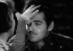 Clark Gable and Loretta Young in The Call of the Wild (William A. Old Hollywood Stars, Hollywood Actor, Golden Age Of Hollywood, Vintage Hollywood, Classic Hollywood, Clark Gable, Moustache, Loretta Young, Carole Lombard