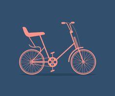 Bicycle Icon Set on Behance