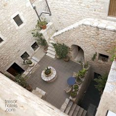 Trésor Hotels and Resorts_Luxury Boutique Hotels_ Right next to the sea, the glamour of in a past epoch meets discreet luxury in the present day. must-visit aquatic paradise. Stone Stairs, Country Chic, Hotels And Resorts, Past, Cool Designs, Exterior, Elegant, Luxury, Outdoor Decor