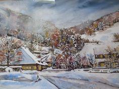 """Renate Schmidt ''Winter in Schönau"""""""