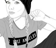 Inspiring image art, beanie, braids, outline, outlines, tumblr, tumblr girl #3080632 by Bobbym - Resolution 1280x1280px - Find the image to your taste