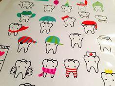 Teeth stickers www.highteeth.nl