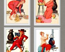 INSTANT DOWNLOAD-PINUP-Duane Bryers pinup-Hilda Pinup-Sexy…