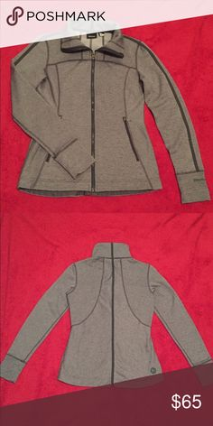 NWOT Marmot Kenzie Jacket Dark Steel Gray Small Very nice zip up Marmot jacket. New without tag. It is 100 percent polyester and has nice lining. It has two pockets! Size is small and fits like that. Marmot Jackets & Coats