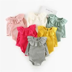d08425117e11f Summer Baby Girl Rompers Spring Princess Newborn Baby Clothes For Girls  Boys Long Sleeve Jumpsuit Kids Baby Outfits Clothes US Size Tage Size  Length Bust  .