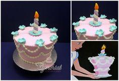 1950's Alice in Wonderland cake - CakesDecor