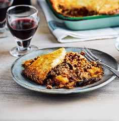 Learn how to make a moussaka with chef Maria Elia. She puts a spin on the traditional dish by adding potatoes to the base to absorb the cooking juices