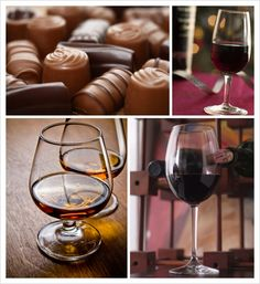 a sign from the heavens above to have a chocolate/cheese/wine party. Chocolate and Wine Pairings