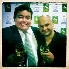 Eu e Jefferson Almeida no lançamento do Torneio Gols Pela Vida do ano de 2011. Já estamos às portas da 3a. Edição!