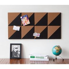 I love Cork Boards, this would be so useful above a work space or landing strip.