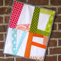 True Love ~ LOVE Mini-Quilt Pattern   Tutorial